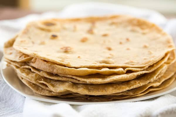 DIY: Homemade Flour Tortillas - These could not be easier to make! No more store bought! | browneyedbaker.com