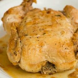 Crock-Pot Roast Chicken Recipe