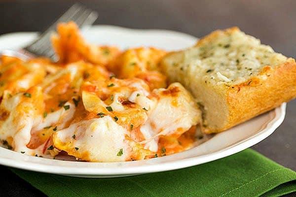 Cheesy Baked Tortellini | browneyedbaker.com