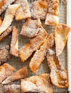 My grandma's recipe for fried dough - an Easter tradition when I was little! | browneyedbaker.com