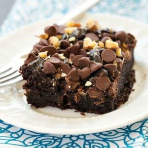 Mrs. Dill's Chocolate Cake - An old family recipe! | browneyedbaker.com
