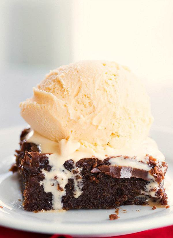Coca-Cola Chocolate Cake - A moist chocolate cake with a boiled frosting similar to Texas sheet cake! | browneyedbaker.com