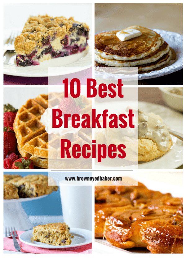 Top 10 List Best Breakfast Recipes