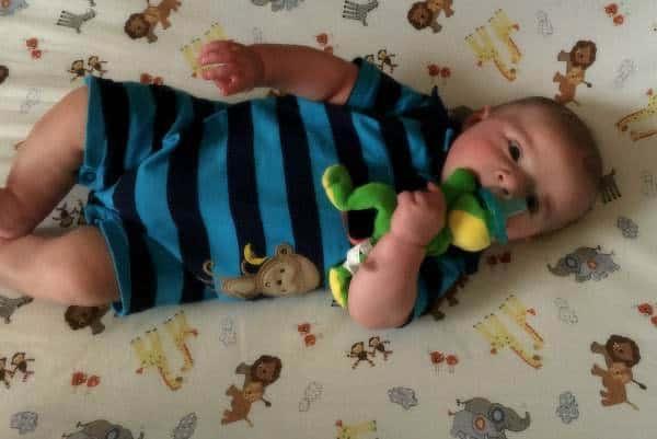 Joseph David - 4.5 months old