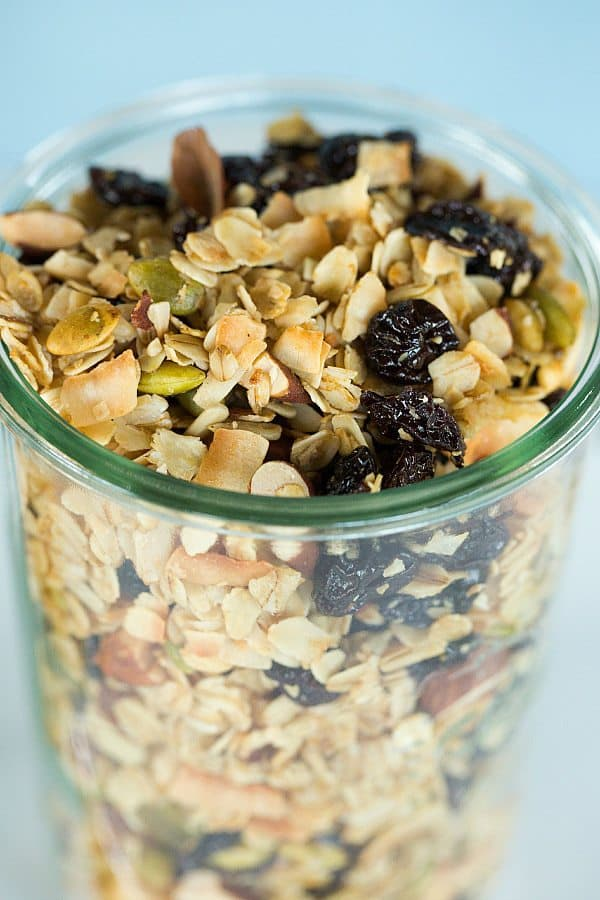 Cherry-Almond Coconut Granola - A quick and easy recipe that you'll ...