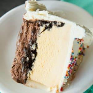 Homemade Dairy Queen Ice Cream Cake Copycat Brown Eyed