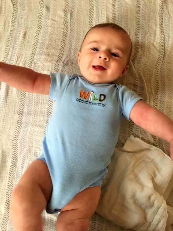 Joseph David - Almost 6 months old! | browneyedbaker.com