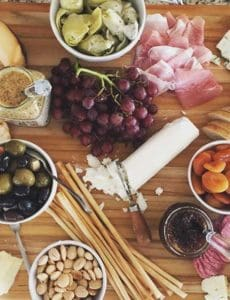 My absolutely epic cheese plate! | browneyedbaker.com