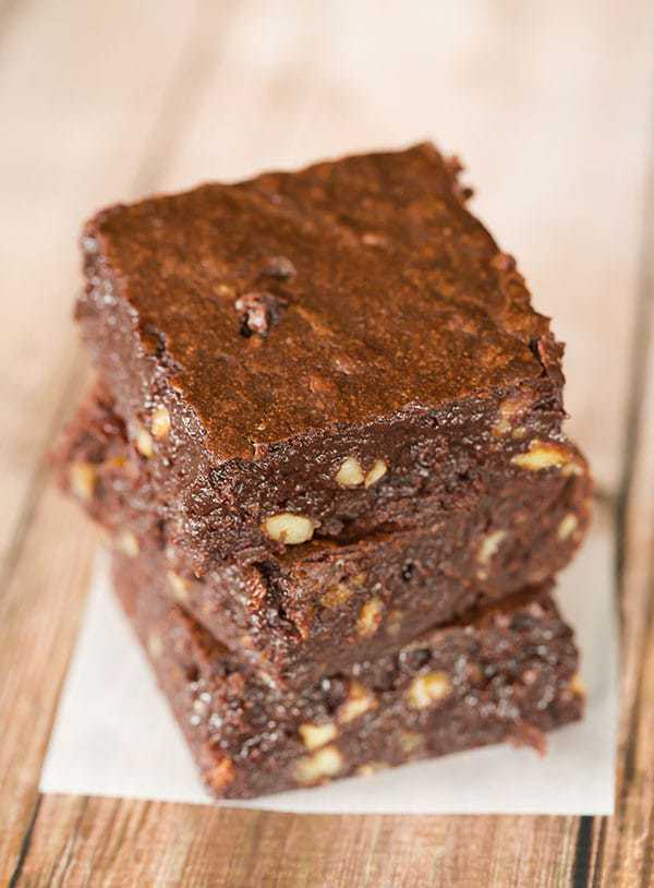 Fudgy Pudgy Brownies   browneyedbaker.com