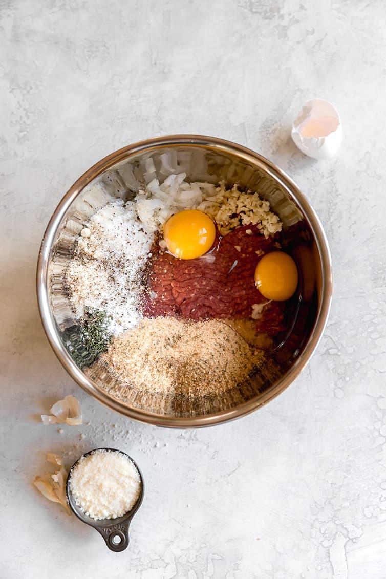 The Best Italian Meatball Recipe Brown Eyed Baker