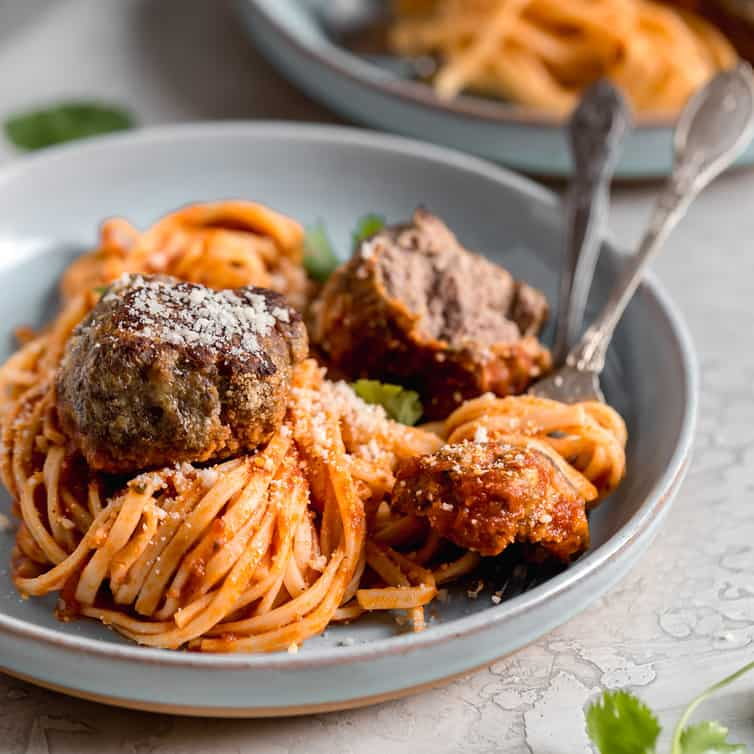 The BEST Italian Meatball Recipe | Brown Eyed Baker