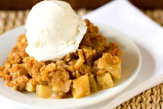 Almond-Apple Crisp :: 60 Favorite Fall Dessert Recipes