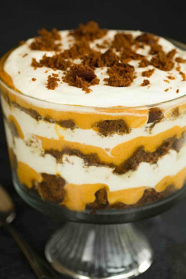 Pumpkin Gingerbread Trifle :: 60 Favorite Fall Dessert Recipes