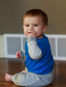 Joseph David - 9 months old | browneyedbaker.com
