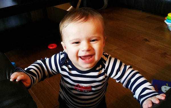 Joseph David - 8 months old