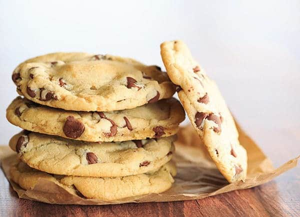 "My very favorite ""everyday"" chocolate chip cookie recipe!   browneyedbaker.com"
