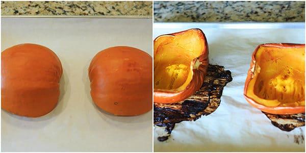 DIY: How to Make Homemade Pumpkin Puree   https://www.browneyedbaker.com/homemade-pumpkin-puree-recipe/