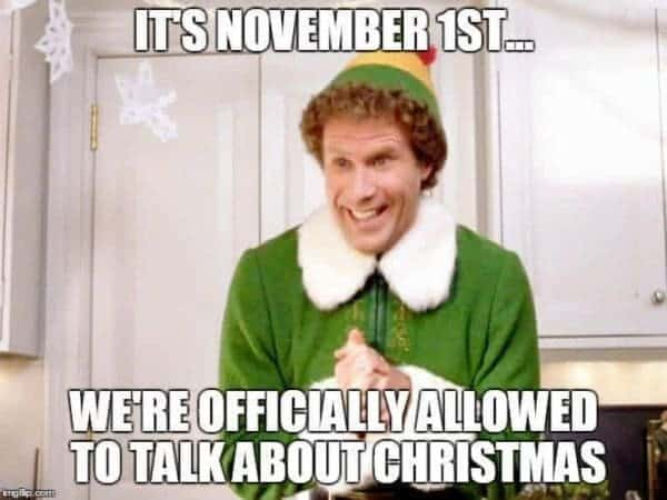 YES, Christmas!