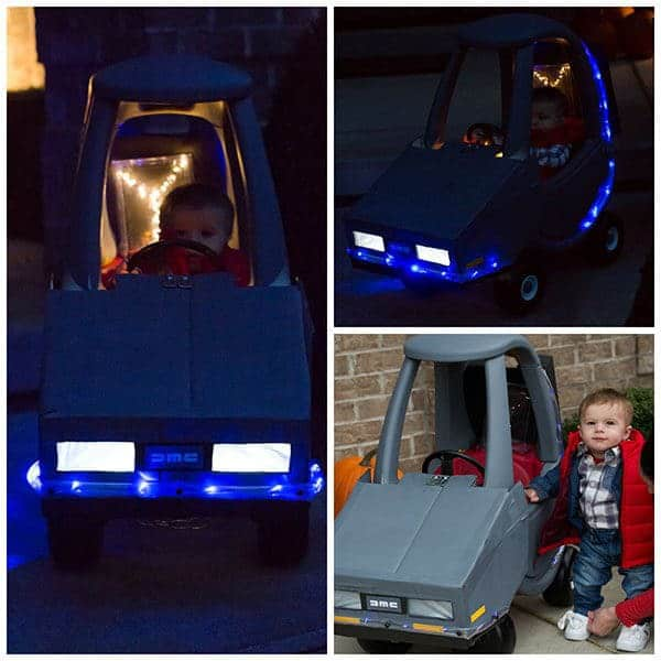 Halloween 2015 - Joseph as Marty McFly from Back to the Future! | browneyedbaker.com