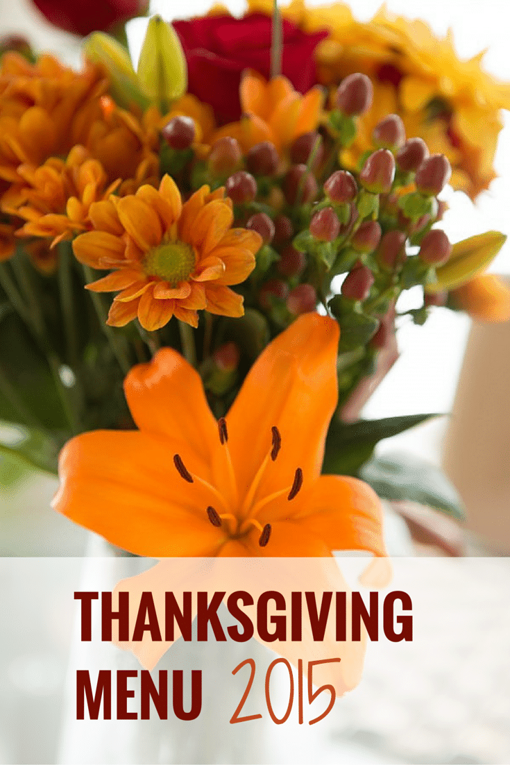 My Thanksgiving Menu [2015] | browneyedbaker.com