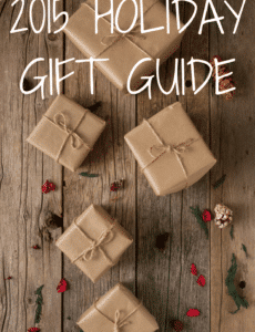 2015 Holiday Gift Guide - Everything from kitchen and food to cookbooks, beauty & fashion, home and baby! | browneyedbaker.com