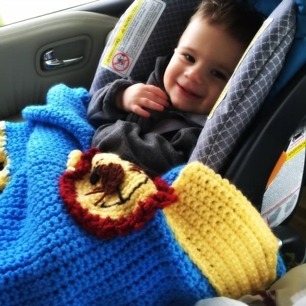 Joseph on the way to Grandma and Grandpa's house 12/30/15.
