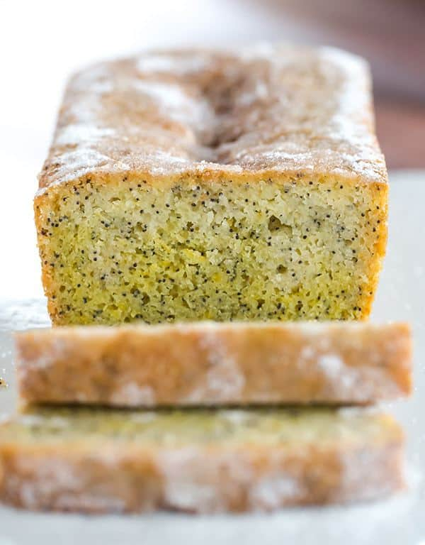 Lemon And Poppy Seed Drizzle Cake A Big Pop Of Flavor Great Non
