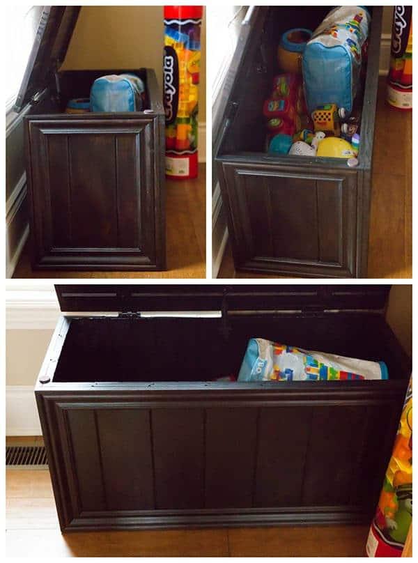 Homemade Toy Box