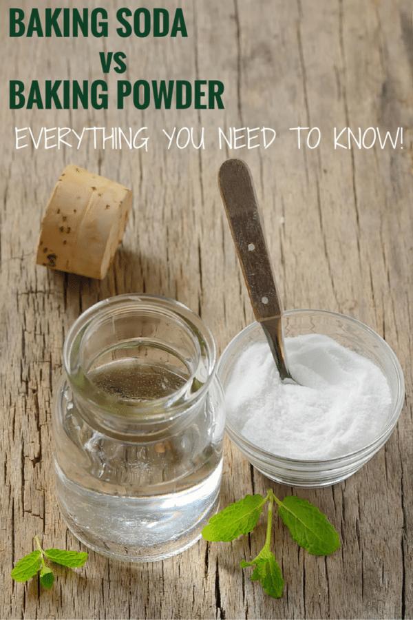 Baking Basics: Baking Soda vs  Baking Powder | Brown Eyed Baker