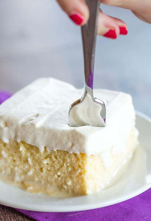 What Is Tres Leches Cake Made Of