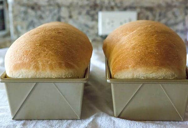 This is a classic white bread recipe, and so easy! The loaves bake up incredibly tall, soft and fluffy... the perfect white bread!