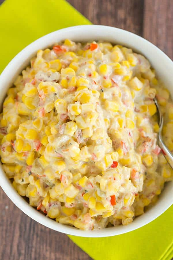 Creamy Mexican Corn Salad
