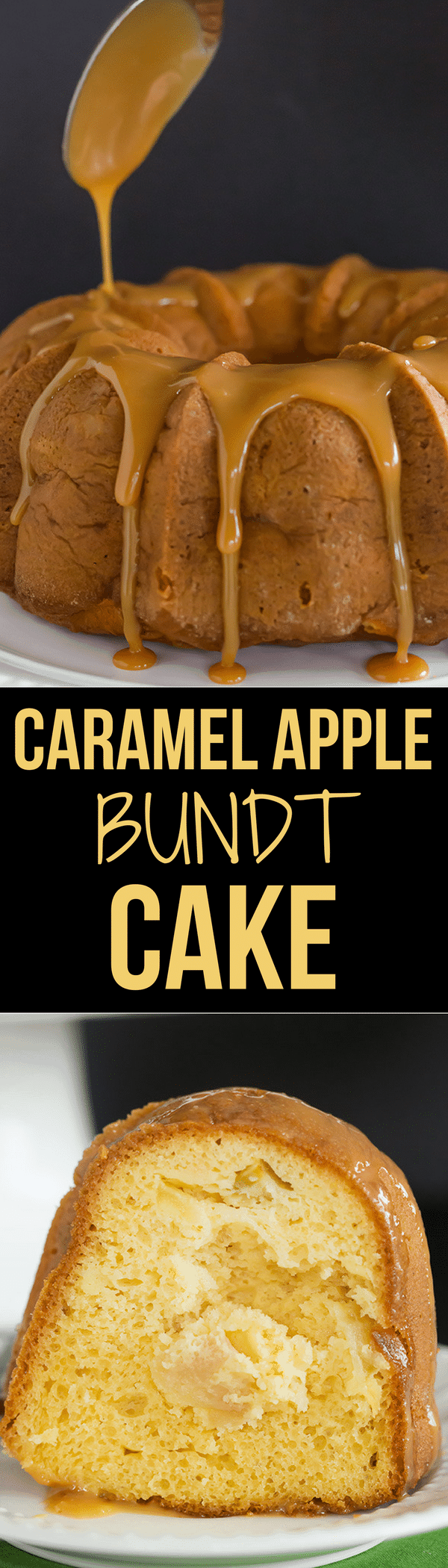 Amazing Apple Bundt Cake