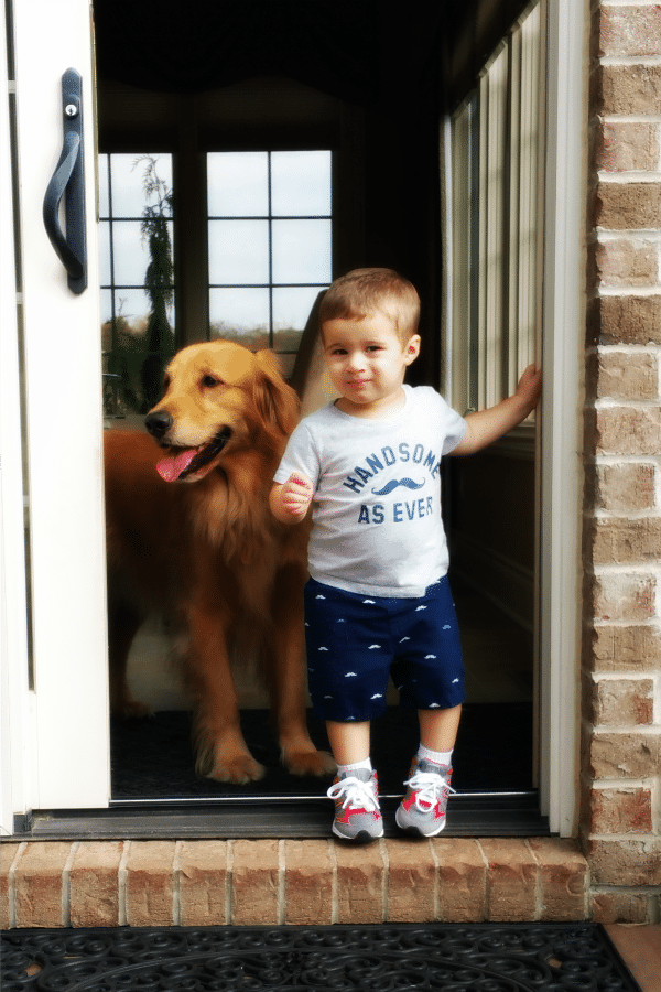 Duke and Joseph - 21 months old