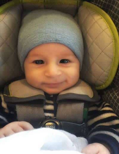 Dominic - 2 months old | browneyedbaker.com