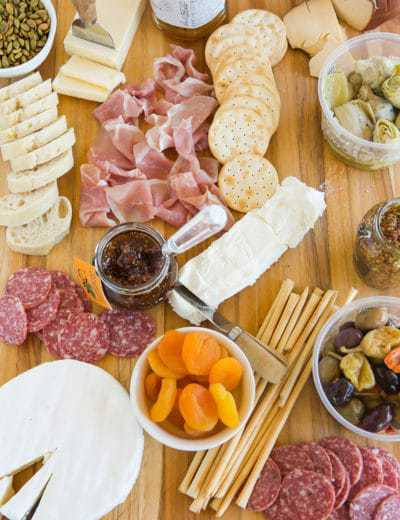 How To Create an Epic Cheese Plate: A simple formula for an amazing cheese plate that will become your go-to appetizer! | browneyedbaker.com