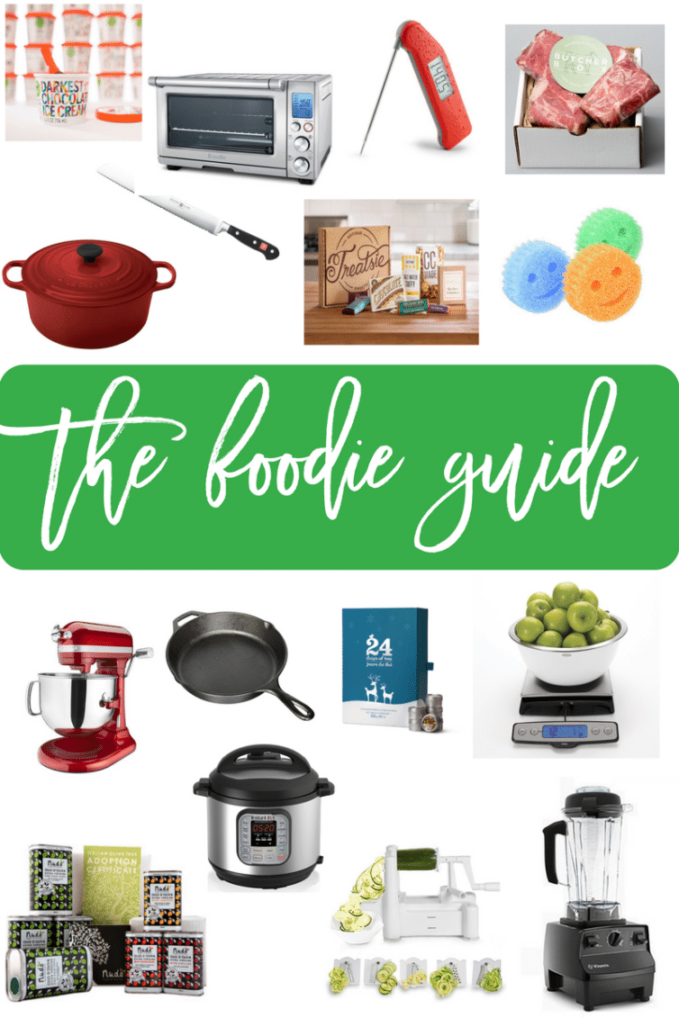 The Foodie Gift Guide - Part of the 2016 Ultimate Holiday Gift Guide | browneyedbaker.com