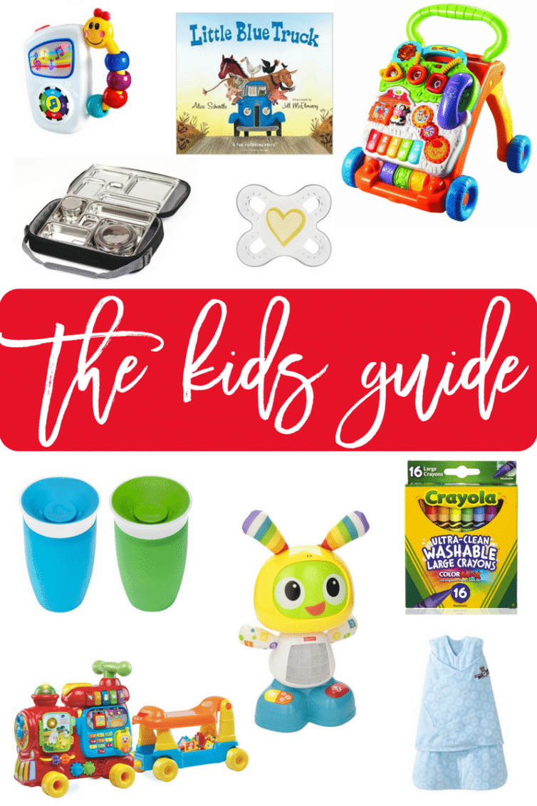 The Baby & Toddler Gift Guide - Part of the 2016 Ultimate Holiday Gift Guide | browneyedbaker.com