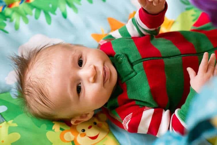 Dominic Aldo - 3 months old | browneyedbaker.com