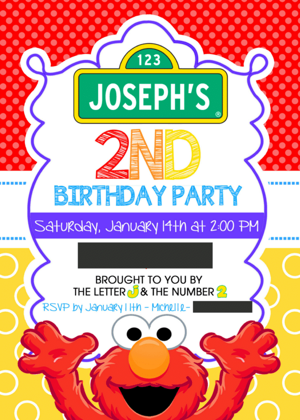Joseph's 2nd Birthday Party