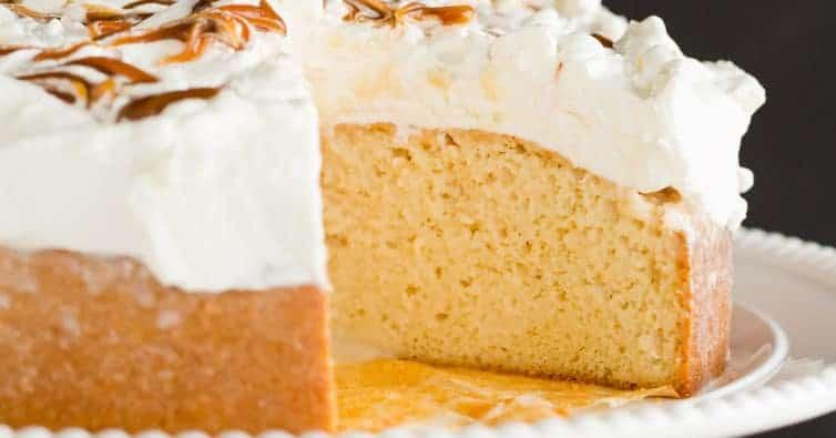 Caramel Tres Leches Cake Brown Eyed Baker