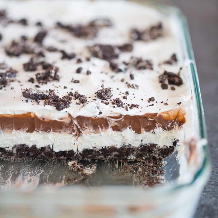 No Bake Heavenly Oreo Dessert Brown Eyed Baker