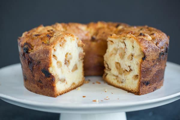 A gorgeous Jewish Apple Cake - a perfect fall dessert.