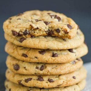 Chewy choc chip cookies recipes
