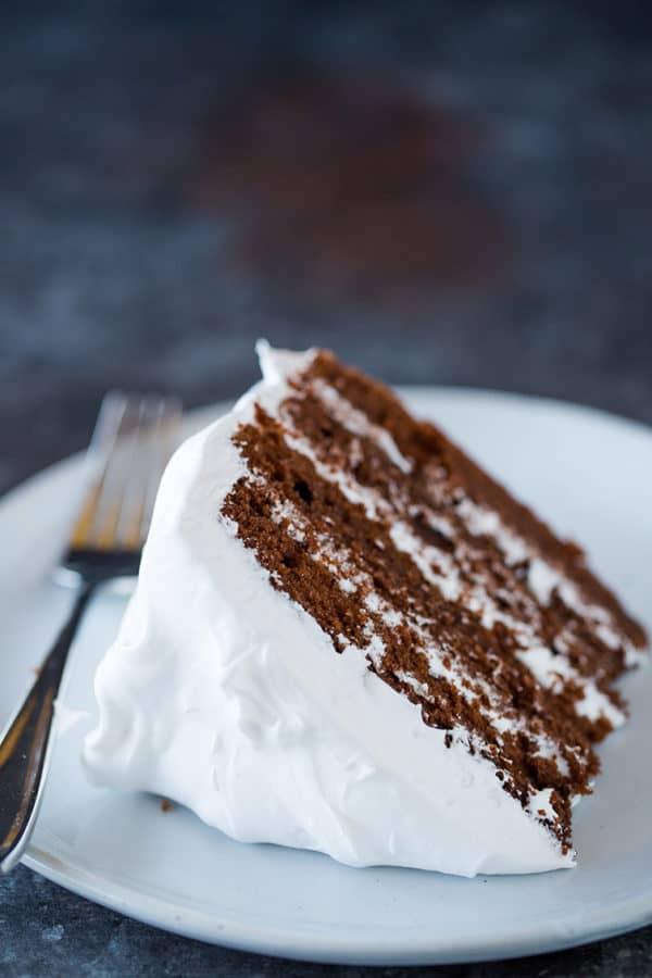 Traditional Devils Food Cake
