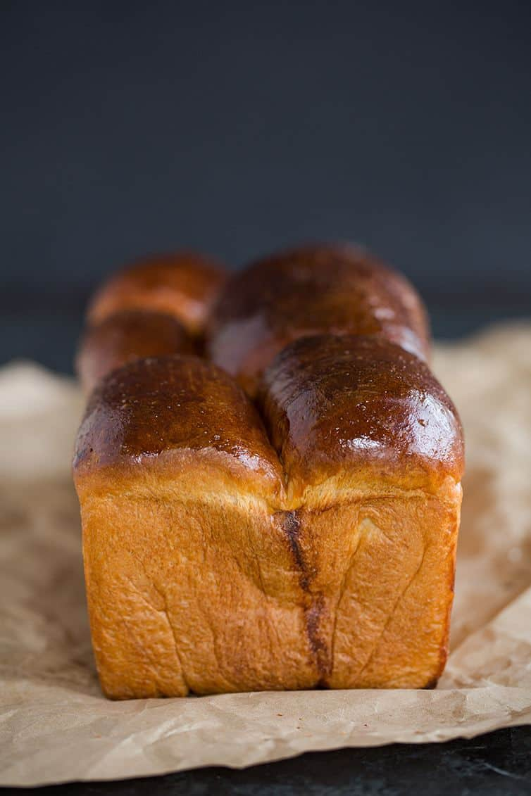 Milk bread sandwich loaf