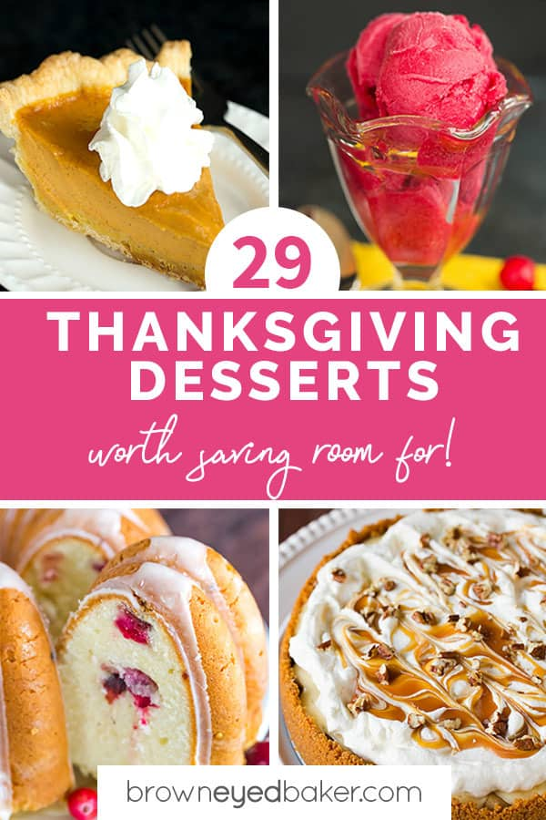 29 Thanksgiving Desserts Worth Saving Room For!