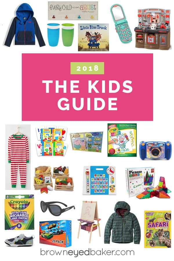 e3e349893d A collage of items perfect for gifting to toddlers and preschoolers.