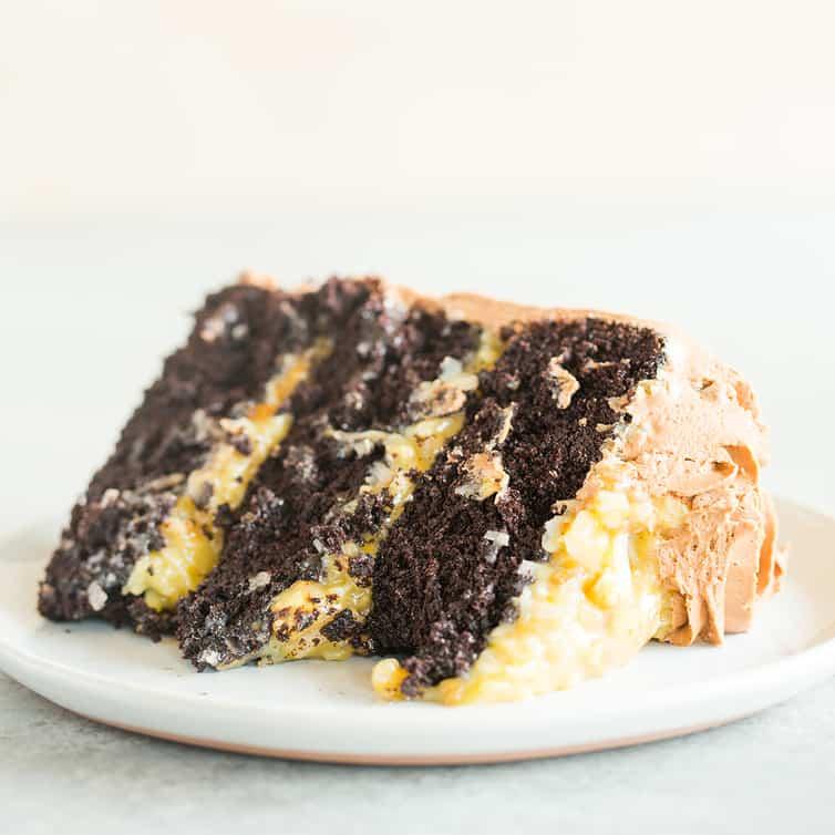 The BEST German Chocolate Cake Recipe   Brown Eyed Baker