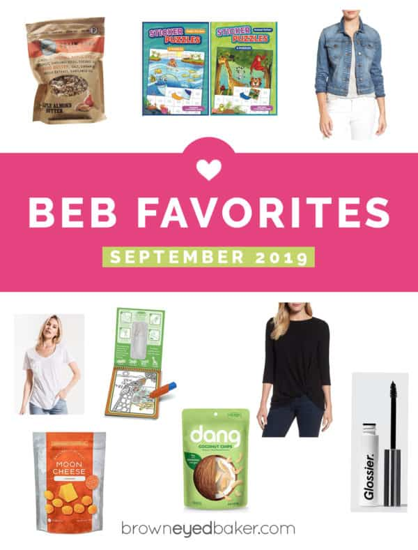 "A collage of products with the text ""BEB Favorites September 2019"""